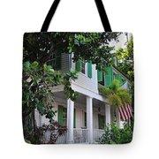 The Audubon House - Key West Florida Tote Bag