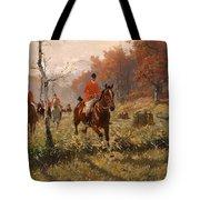 The Autumn Hunt Tote Bag