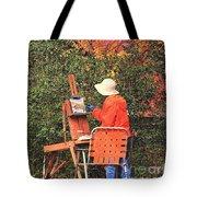 The Autumn Painter Tote Bag