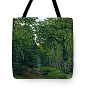 The Avenue Of Chestnut Trees Tote Bag