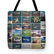 The Aviation Art Of Frank L Hunter Tote Bag