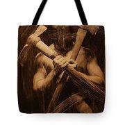 The Axe Man Tote Bag