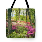 The Azalea Woodland Tote Bag