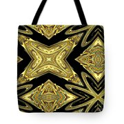 The Aztec Golden Treasures Tote Bag