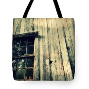 The Back Of An Old House On My Farm Tote Bag