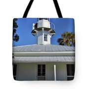 The Back Of The Lighthouse Tote Bag