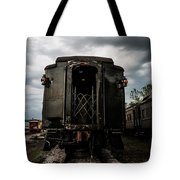 The Back Of The Train Tote Bag