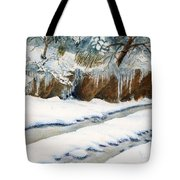 The Back Road Tote Bag