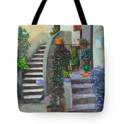 The Back Stairs Tote Bag