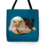 The Bald Eagle 2 Tote Bag