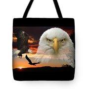 The Bald Eagle Tote Bag