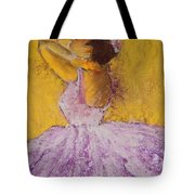 The Ballet Dancer Tote Bag by David Patterson