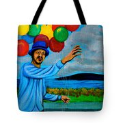 The Balloon Vendor Tote Bag