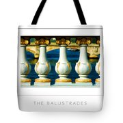 The Balustrades Poster Tote Bag