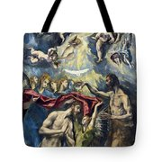 The Baptism Of Christ Tote Bag