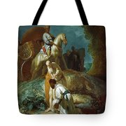 The Baptism Of The Eunuch After Rembrandt Harmenszoon Van Rijn Tote Bag