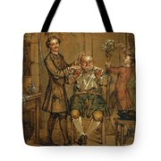 The Barber Tote Bag