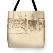 The Barber's Tote Bag