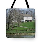The Barn Along The Tulpehocken Tote Bag