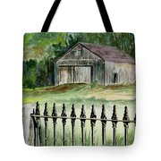 The Barn At Parsonsfield Maine Tote Bag