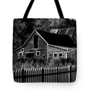 The Barn Bw  Tote Bag
