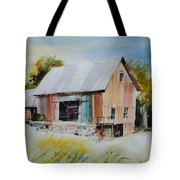 The Barn Entrance  Tote Bag