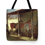 The Barn Of Marechal-ferrant Tote Bag