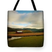The Barn On Green Acres Tote Bag