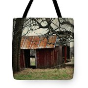 The Barn Out Back Tote Bag