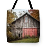 The Barn With The Red Door Tote Bag