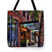 The Barney Mccoy Cafe Tote Bag