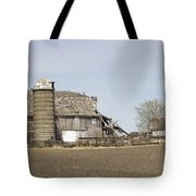The Barn's Last Season Tote Bag
