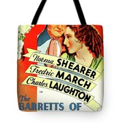 The Barretts Of Wimpole Street Tote Bag