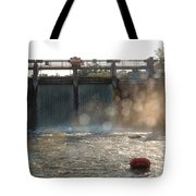The Barton Lake Dam Tote Bag