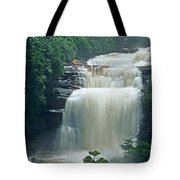 The Base Of Angel Falls In Canaima National Park Venezuela Tote Bag