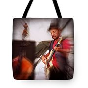 The Bass Player Tote Bag