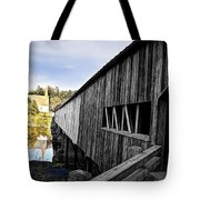 The Bath Covered Bridge Tote Bag