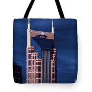 The Batman Building - Nashville Tote Bag