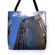The Batman Building Nashville Tn Tote Bag
