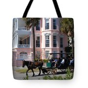 The Battery In Charleston Tote Bag