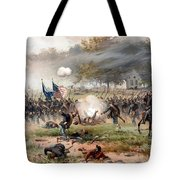 The Battle Of Antietam Tote Bag