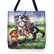 The Battle Of Bannockburn Tote Bag