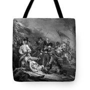 The Battle Of Bunker Hill Tote Bag