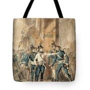 The Battle Of Hogland Tote Bag