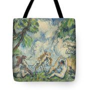 The Battle Of Love Tote Bag