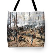 The Battle Of Shiloh Tote Bag