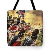 The Battle Of Waterloo Tote Bag