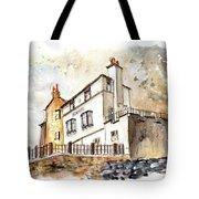 The Bay Hotel In Robin Hoods Bay Tote Bag