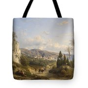 The Bay Of Naple Tote Bag