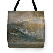 The Bay Of Naples With Vesuvius Tote Bag